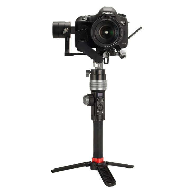 3.2kg Max Loading Capacity 3 Axis Dslr Camera Gimbal Stabilizer