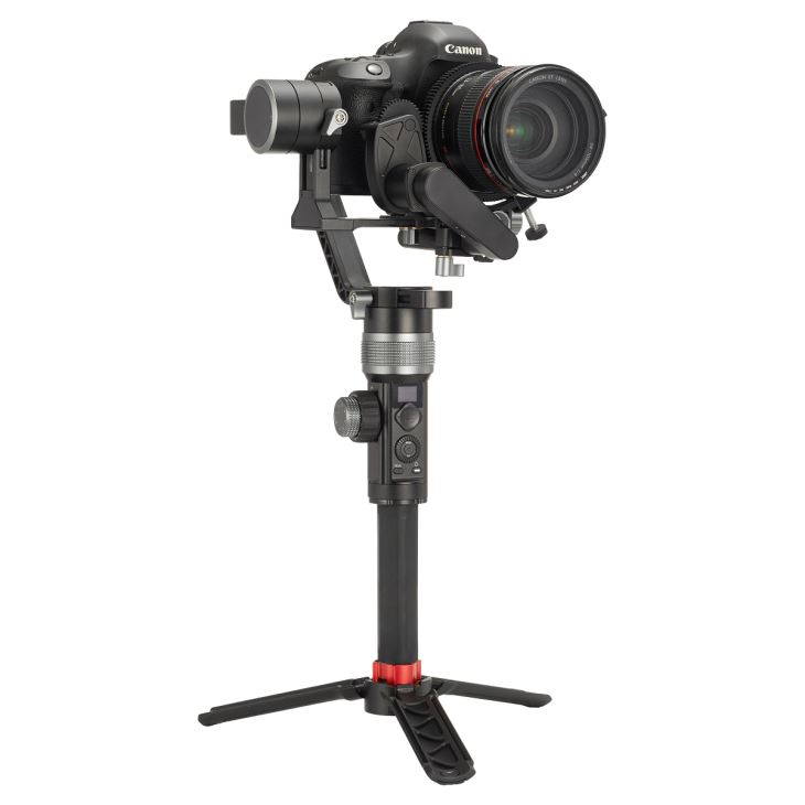 3 Axis Gimbal Stabilizer Handheld For NIKON SONY CANON Mirrorle Camera 3.2kg Payload